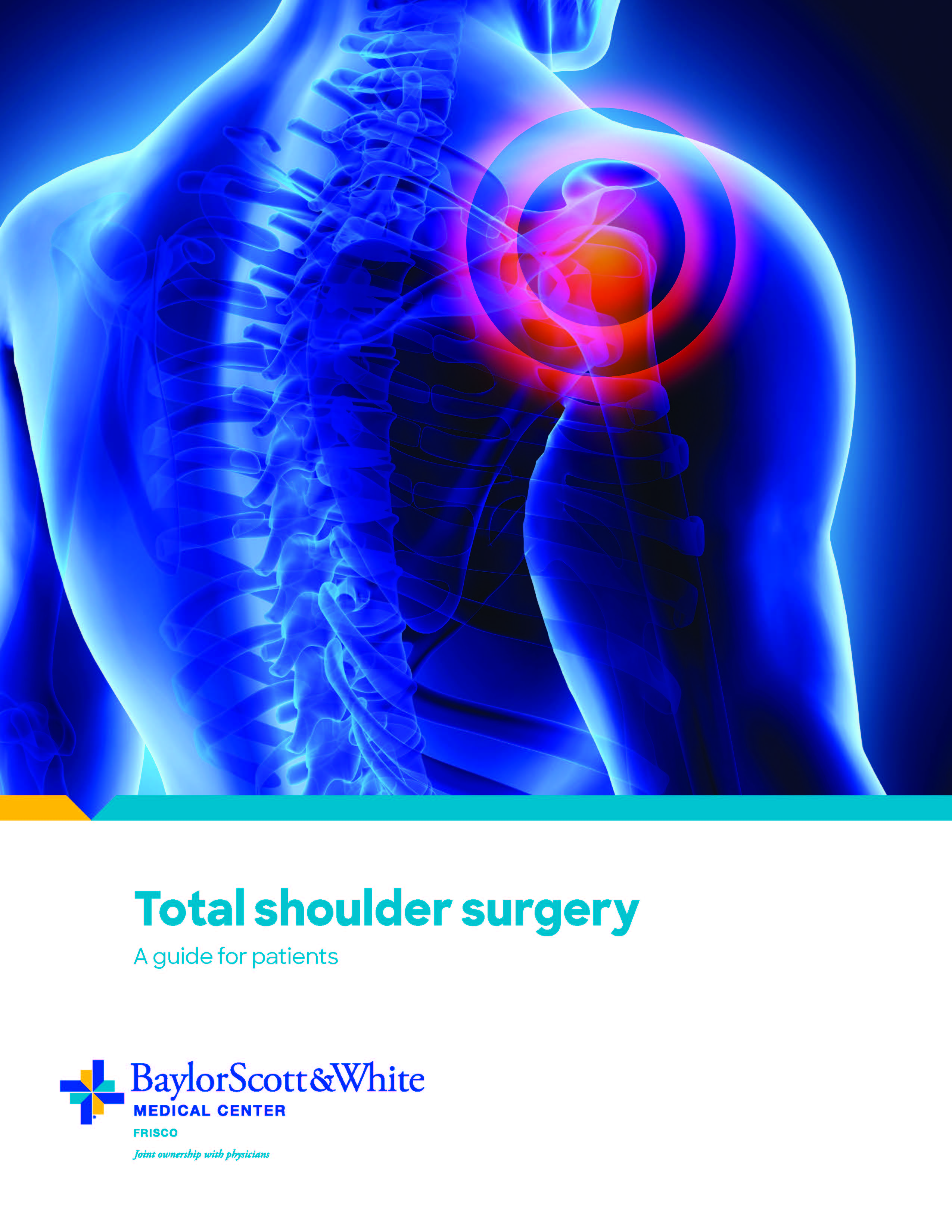 Print our Total Shoulder Replacement Guide to Surgery