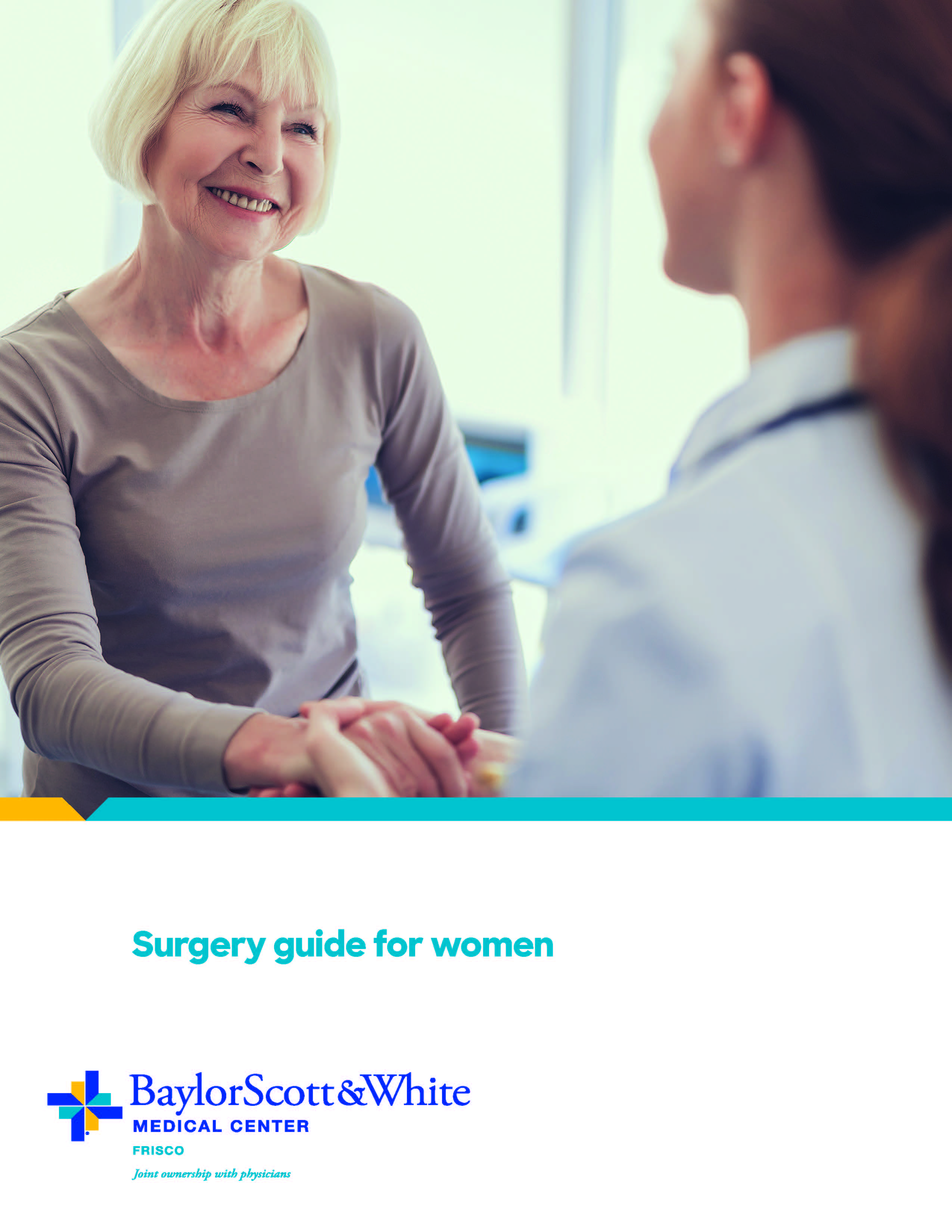 Print our Surgery Guide for Women